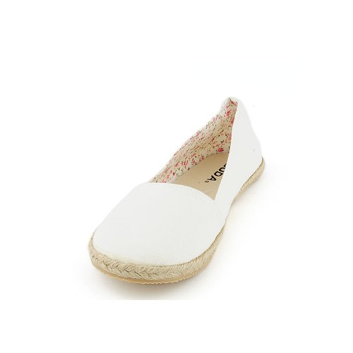 Soda Womens Bill-s Casual Flat Off White