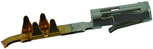 2-487406-4 - Contact, FFC Series, Socket, Crimp, Gold Plated Contacts, AMP Flexible Flat Cable (FFC) Housings, (Pack of 250) (2-487406-4) ()