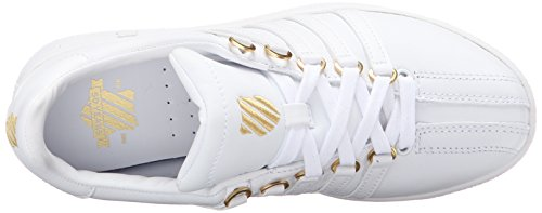 K-Swiss Damen Classic VN 50th Low-Top White (White/Gold)