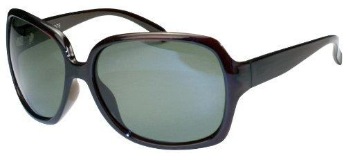 Polarized Sunglasses with Flash Mirror lens APL75 (Mahogany & Smoke)