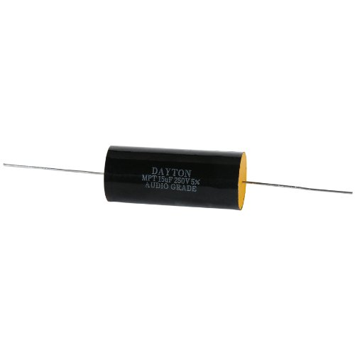Dayton Audio DMPC-15 15uF 250V Polypropylene Capacitor (Dayton Crossover compare prices)