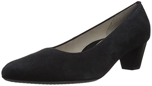 ara Women's Kelly Shoe, Black Suede, 9 M US