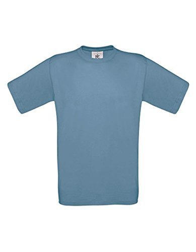 T-Shirt Exact 190 Basics Rundhals Shirt viele Farben B&C S-XXL L,