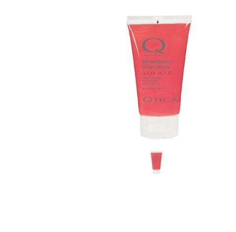 QTICA Smart Spa Strawberry Cranberry Sugar Scrub 7oz (Spa Sugar)