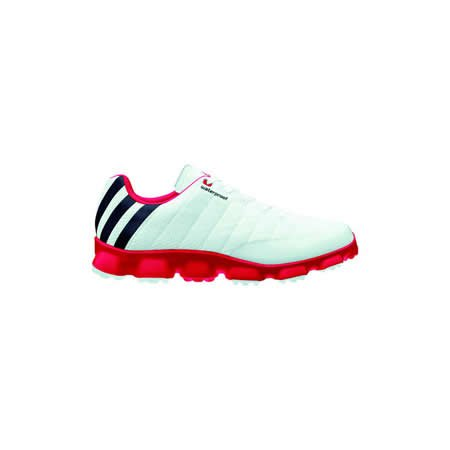 Adidas Mens Crossflex Golf Shoes (10 US, White)