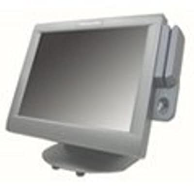 """Pioneer Pos 1M1000R2B1 Resistive Touch Monitor, 15"""" Size, Sturdy Base, Spill Resistance, Hub with 4 Extra USB Ports"""