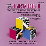 Bastien Piano Basics - Piano/performance/technic By Jane Smisor Bastien. Edited By James Bastien. For Piano. Method. Level 1. Accompaniment Cds.