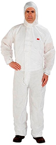 3M/COMMERCIAL TAPE DIV. DISPOSABLE PROTECTIVE COVERALLS, WHITE, X-LARGE, 25/CARTON by 3M (Image #1)