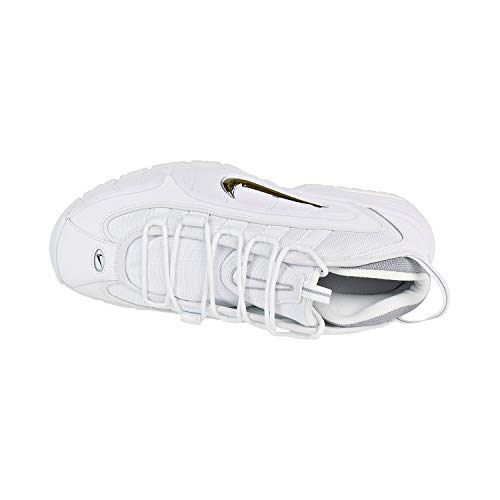 NIKE Penny da Air White Uomo White Max Metallic Silver Bianco Scarpe 100 Basse Ginnastica rBBZxnwW