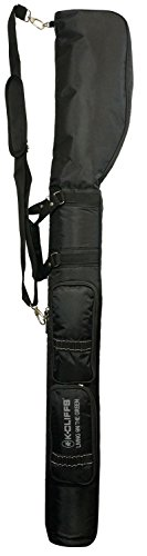 Mini Black Bag Range (K-Cliffs Driving Range Mini Course Training Practice Golf Bag Travel Case Black By Praise Start)