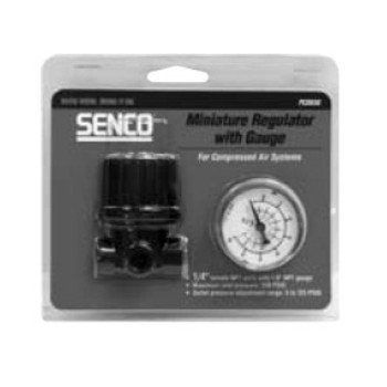SENCO PC0656 1/4-in FPT Mini Regulator with (Fpt Gauge)