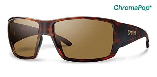 Smith Guides Choice ChromaPop+ Polarized Sunglasses, Matte Havana, Brown - Mens Guide Glasses