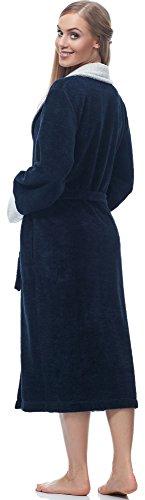Bianco Accappatoio Marino Merry Style Donna MSLL1003 Blu 5Yxw4wqO6