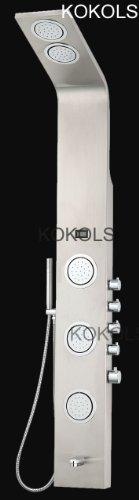Bathroom Shower Tower System Stainless Panel Multi Jet Column Spa Rainsky Shower - Column Cover Panel