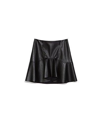 Zara para faldas traje de neopreno para mujer en color negro L ...
