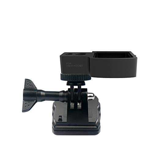 Orcbee  _Expansion 1/4 inch Screw Adapter Bracket + Clip for DJI Osmo Pocket Handheld Gimbal Stabilizer ()