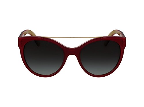 Dolce & Gabbana Women's 0dg4280 Round Sunglasses, Top Red on Gold, 57 mm by Dolce & Gabbana (Image #2)