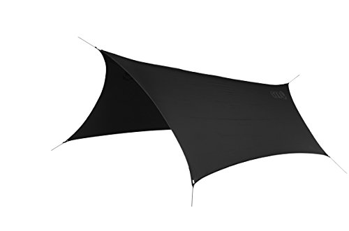 ENO - Eagles Nest Outfitters ProFly Rain Tarp, Ultralight Hammock Accessory, Black