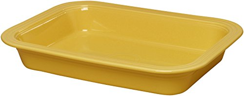 Fiestaware 9'' x 13'' Lasagna Pan (Sunflower Yellow) by Fiestaware