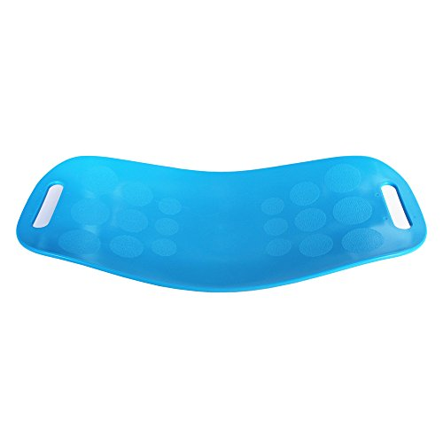 (V-HOME Twisting Fitness Board - Premium Quality, Simple Core Workout for Abdominal Muscles and Legs Balance Fitness Board (Blue))