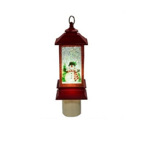 Midwest of Cannon Falls - Snowman Shimmer Night Light Lantern (129251)