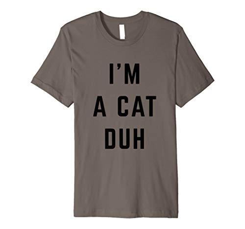 I'm a Cat Duh Easy Halloween Costume Premium