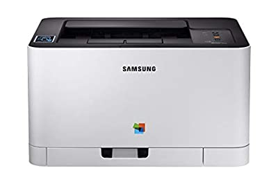 Samsung Xpress C430W Wireless Color Laser Printer with Simple NFC + WiFi Connectivity and Built-in Ethernet, Amazon Dash Replenishment Enabled (SS230G) (Certified Refurbished)