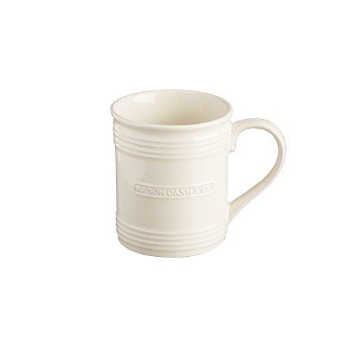 Mason Cash Original Stoneware Mug, 13-Fluid Ounces, Cream