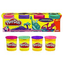 play doh 4 pack - 8