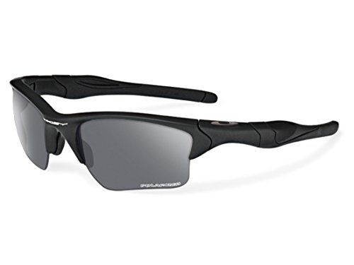 Oakley SI Half Jacket 2.0 XL Polarized Sunglasses Matte Black Frame/Gray (Frame Gray Polarized Lens)