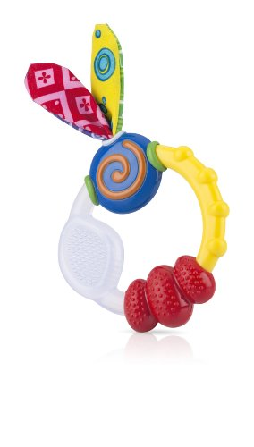 Nuby 632 Wacky Teething Ring