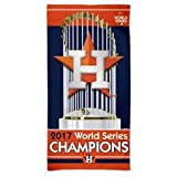 "Wincraft Houston 2017 World Series Champions 30"" X 60"" Beach Towel"