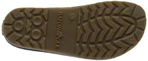 70 Haflinger Pantofole Donne Aperte Grizzly Delle mittelblau Couriccini Schiena Blu wxPvIxzS