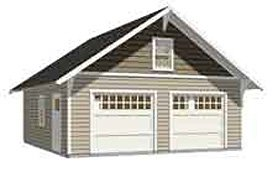 Garage Plans : 2 Car Craftsman Style Garage Plan - 576-14 - 24' x 24 on two car carport plans, homemade car plans, breakfast nook plans, two stall garage kits menards, bonus room plans, 20 x 20 home plans, driveway plans, two story plans, breakfast bar plans, two bedrooms plans, study plans, two car barn, pedal car frame plans, 2 car carport building plans, porch plans, privacy fence plans, wet bar plans, carport addition plans, two car carriage house, two car home designs,