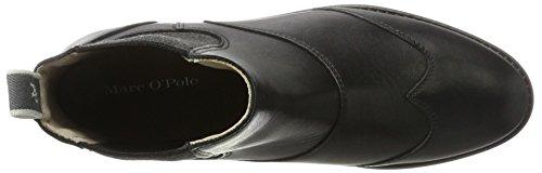Marc OPolo Damen Flat Heel Chelsea 70814225002124 Boots Schwarz (Black)