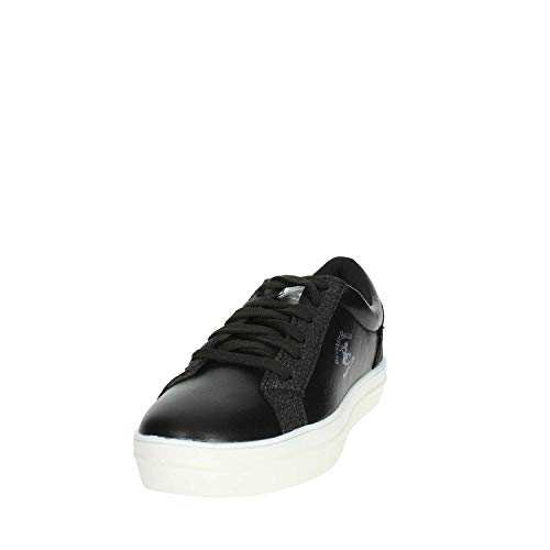 Sneakers Beverly 3013 Nero Club Polo Donna Bh Hills XpPXvq