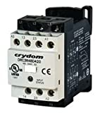 Solid State Contactor, 7.6 A, 510 V, 140 VAC, Reversing, DIN Rail, Panel, Screw