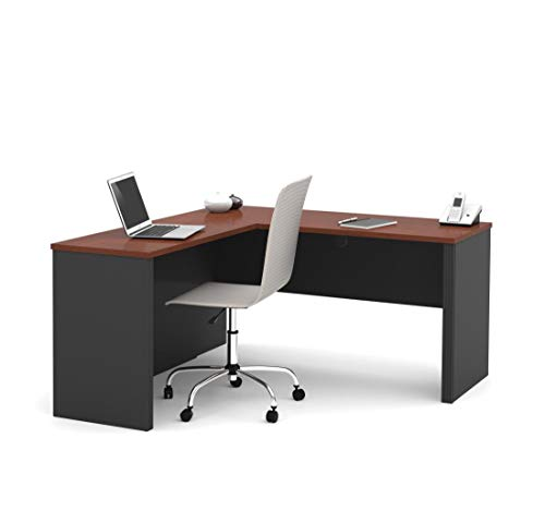 Bestar L-Shaped Desk - Prestige Plus