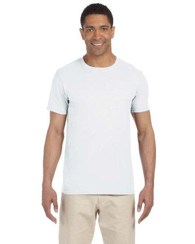 Gildan SoftStyle Ring Spun Cotton T-Shirt, White, XL ()