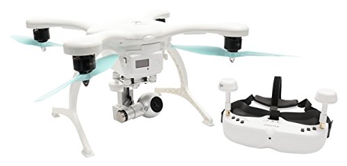Ehang GHOSTDRONE 2.0 VR, Android Compatible, White/Blue by EHang