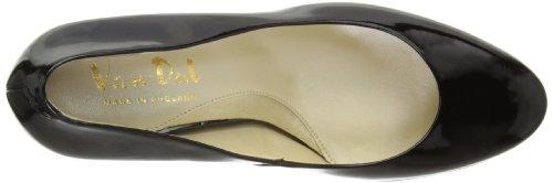 Van Dal Filby - plataformas rectas de cuero mujer Black (Black Patent)