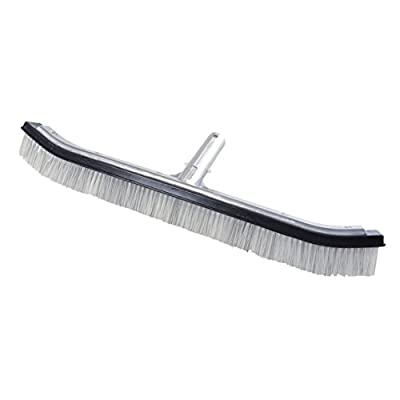 "Milliard 18"" Heavy Duty Nylon Wire Hybrid Swimming Pool Algae Brush - Extra-Wide"