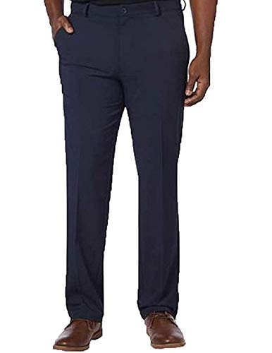 Greg Norman Men's Ultimate Travel Pant Luxury Microfiber(Navy,34x30)