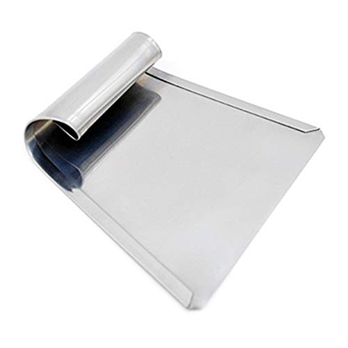 Kitchen Lightweight Pastry Tool Stainless Steel Easy Clean Professional Flour Shovel Trapezoidal Portable Practical Pizza