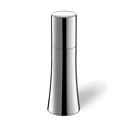 ZACK 20862 Cuvo Salt or Spice Gloss Finish Mill, 6.1 x 2.05'', Silver Stainless