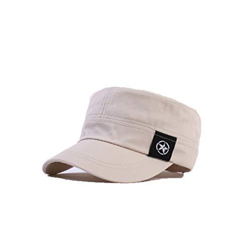6a7fe5b7 Huijunwenti Hat, Men's and Women's Flat hat, Summer Spring and Autumn Wild  Cap,