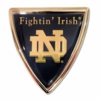 University of Notre Dame (Shield w/ Color) Emblem for sale  Delivered anywhere in USA