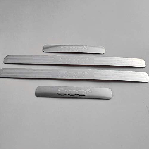 TOPSALE per 500x Accessori 2014-2017 Adesivo per Auto nel Acciaio Inox battitacco battitacco battitacco protettore