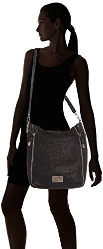 Negro Bonnie Schwarz Des Temps noir Bolso Cerises Mujer 0121 4 Le 1Unqwgf7R1