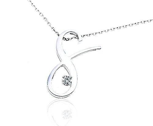 SIGNATURE - Pendentif Diamant - Or 18 carat - Poids du diamant: 0.2 carat - www.diamants-perles.com